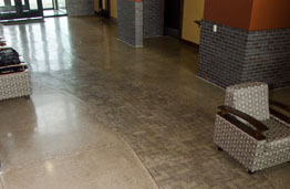 Polished Concrete at LaRosa